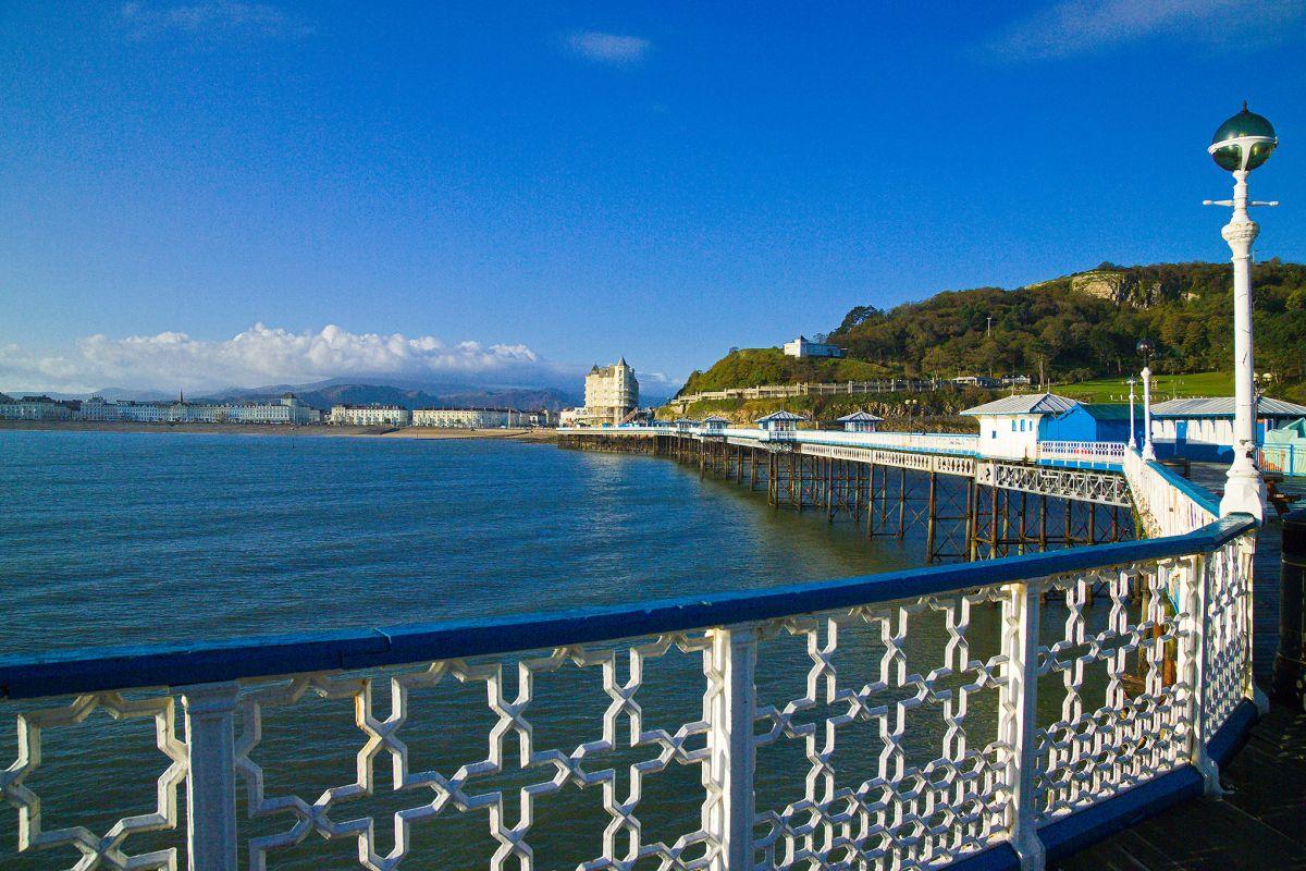 The Pier in Llandudno