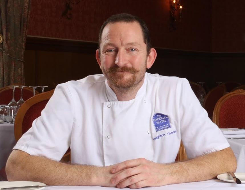 Leighton Thomas, Head Chef - The Imperial Hotel