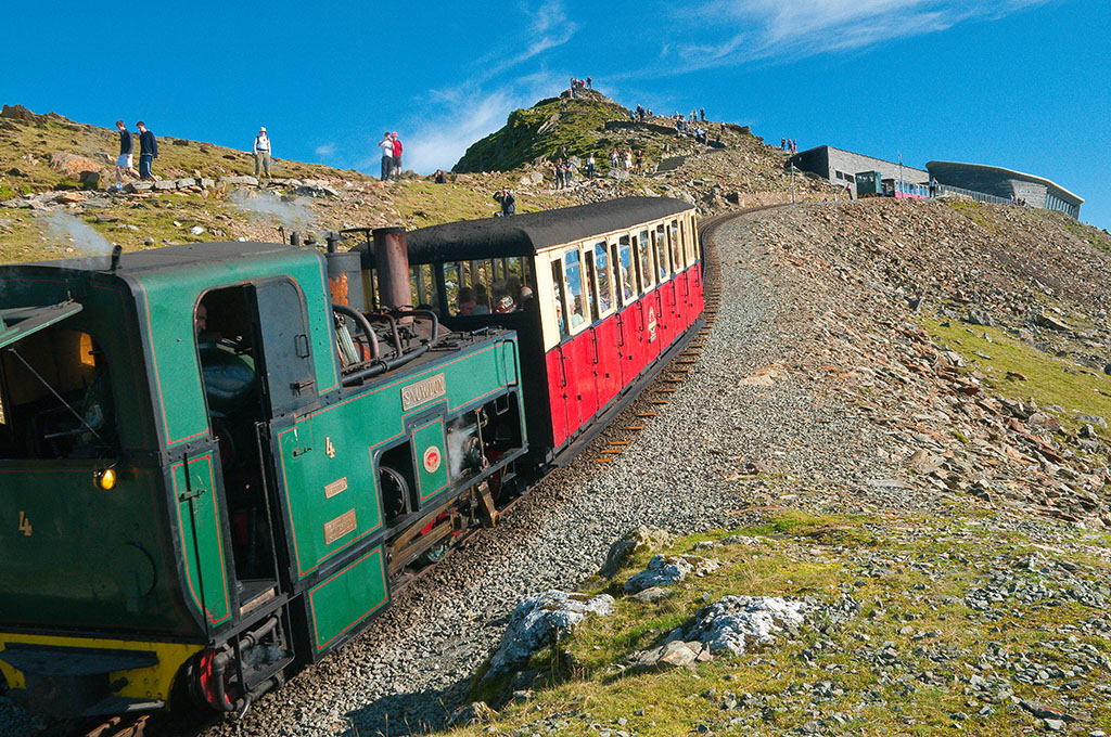 Steaming up to the Summit - The Snowdon Mountain Railway